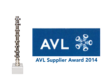 AVL Supplier Award 2014