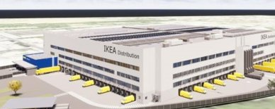 IKEA Customer Distribution Center Vienna goes into operation with HAINZL building technology