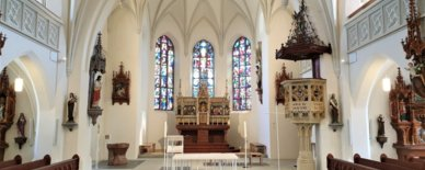 Church of Oberneukirchen shines in new splendor with HAINZL technology