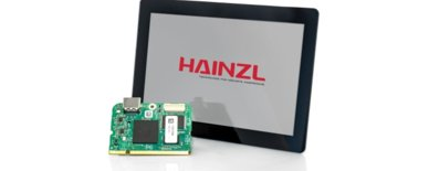 Space-saving display design from HAINZL with external processor stands up to any challenge